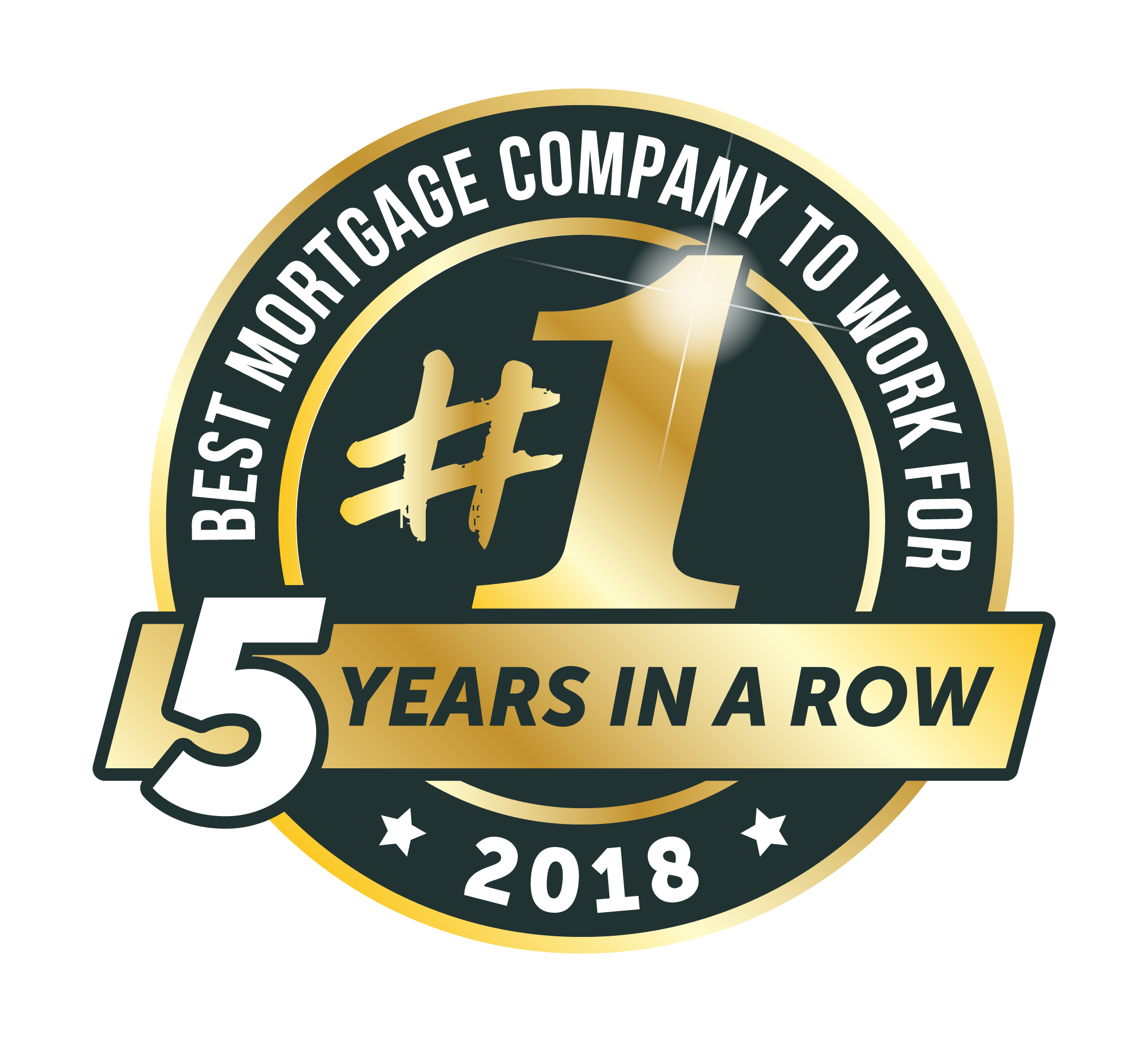 Best_Mortgage_Company_to_Work_For_2018_Color_Transparent