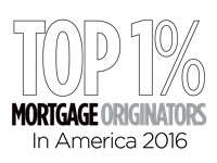 Top 1 mortgage originators